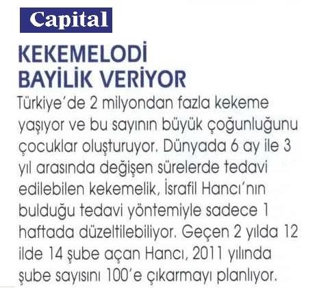 KEKEMELODİ - CAPITAL DERGİSİ
