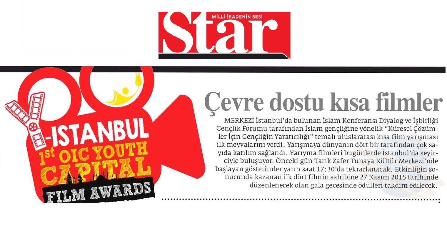 ICYF-DC - STAR GAZETESİ